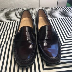 Cole Haan Shoes - Cole Hann burgundy penny loafer size 9